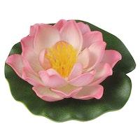 Künstliche Seerosen, 18cm, rosa (001122-00)