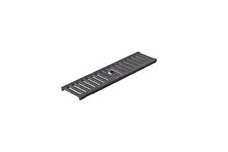 MEARIN 100 Stegrost, schwarz, verstärkt 20mm, 500mm lang