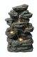 "Wandbrunnen ""Felsgestein LED"", 42x29x60cm (016586-00)"