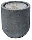 """Gartenbrunnen """"Zylinder LED"""", black color, 41x41x45cm (016608-03)"""