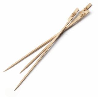 NAPOLEON Holz-Spieße aus Bambus, 33,5 cm lang (30 Stk)