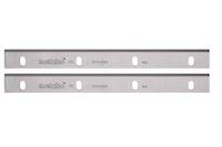 Metabo 2 HSS Hobelmesser18%W 263 x24,5x3mm / 4-Langlöcher