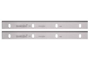 Metabo 2 HSS Hobelmesser-18%W 310x20x3mm / 2-EinstellnutenHC 333
