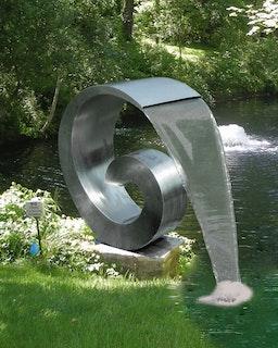 Gardenforma Wasserspiel Loop inkl. 1 Zoll Wasseranschluß