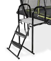 EXIT Trampolinplattform mit Leiter Größe M (für Rahmenhöhe 65 - 80 cm)