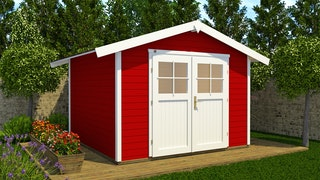 Weka Gartenhaus 122 - 28 mm