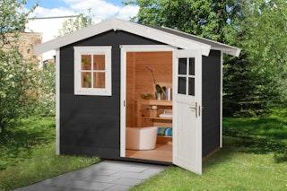 Weka Gartenhaus 123 - 28 mm
