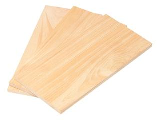 Outdoorchef Holzplanken Erle, 3 Stück