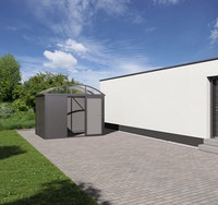 KGT Aluminium Gerätehaus / Geräteraum Elbe