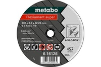 Metabo Flexiamant super 125x2,5x22,23 AluTrennscheibegerade Ausführung