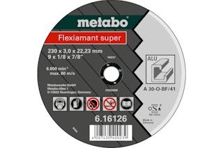 Metabo Flexiamant super 150x3,0x22,23 AluTrennscheibegerade Ausführung