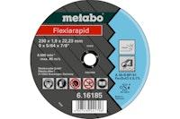 Metabo Flexiarapid 125x1,6x22,23 InoxTrennscheibegerade Ausführung