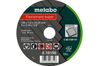 Metabo Flexiamant super 125x1,5x22,23 KeramikTrennscheibegerade Ausführung