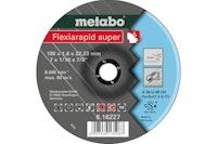Metabo Flexiarapid super 180x1,6x22,23 InoxTrennscheibegekröpfte Ausführung