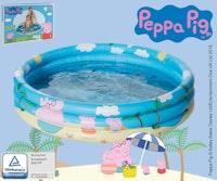 Happy People  Peppa Pig 3-RingPool, aufgeblasen ca. 100x23 cm