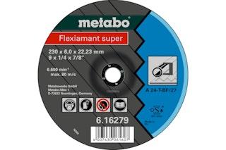 Metabo Flexiamant super 125x6,0x22,23 StahlSchruppscheibegekröpfte Ausführung