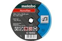 Metabo Novoflex 230x3,0x22,23 StahlTrennscheibegekröpfte Ausführung