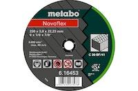 Metabo Novoflex 230X3,0X22,3 SteinTrennscheibegerade Ausführung