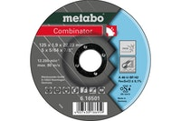 Metabo Combinator 125x1,9x22,23 mmInoxTrenn- u. Schruppscheibegekröpfte Ausführung