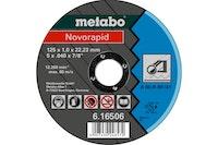Metabo Novorapid 125 x 1,0 x 22,23 mmStahlTrennscheibeForm 41