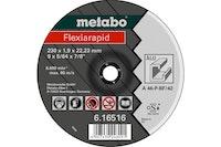 Metabo Flexiarapid 115 x 1,0 x 22,23 mmAluTrennscheibeForm 41