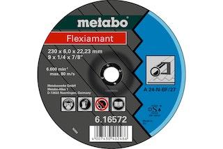 Metabo Flexiamant 180x6,8x22,23 StahlSchruppscheibegekröpfte Ausführung