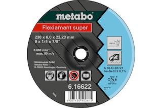 Metabo Flexiamant super 180x6,0x22,23 InoxSchruppscheibegekröpfte Ausführung