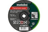 Metabo Flexiamant super 150x6,0x22,23 SteinSchruppscheibegekröpfte Ausführung