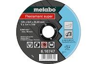 Metabo Flexiamant super 125x6,0x22,23 InoxSchruppscheibegekröpfte Ausführung