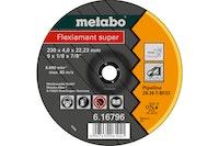 Metabo Flexiamant super 115x4,0x22,23 PipelineSchruppscheibegekröpfte Ausführung