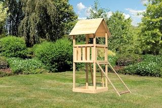 Akubi Kinderspielturm Lotti inkl. Netzrampe