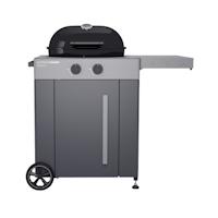 Outdoorchef Gaskugelgrill Arosa 570 G Grey Steel, schwarz