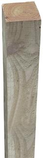T&J Pfosten für FÜNEN Kiefer/Fichte druckimprägniert grün90 x 90 x 2100 mm