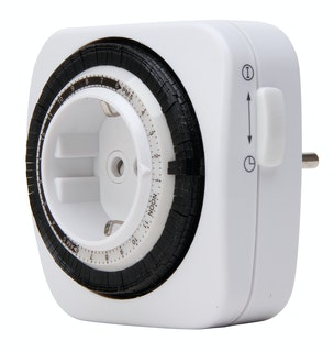 Kopp Tages-Zeitschaltuhr mechanisch kompakt