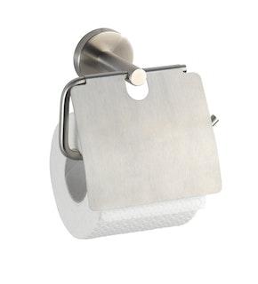 Wenko Toilettenpapierhalter mit Deckel, Bosio