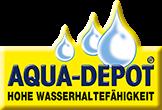 Hohe Wasserhaltefähigkeit dank des Aqua-Depot
