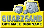 Mit Quarzsand