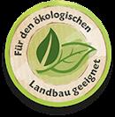 Für den ökologischen Landbau geeignet