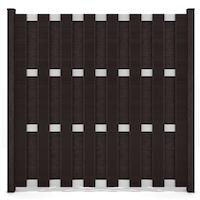 GroJa Fertigzaun Quadratisch 180 x 180 x 3,2 cm