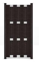 GroJa Fertigzaun Hochkant 84,3 x 180 x 3,2 cm