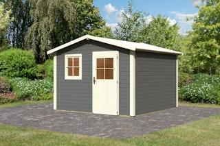Karibu Woodfeeling Gartenhaus Mainau 4/8 - 28 mm
