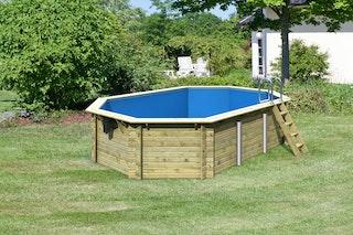 Karibu Pool Modell 4 Classic A/B/C/D 611 x 400 cm - kesseldruckimprägniert