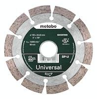 """Metabo Diamanttrennscheibe 125x22,23mm""""SP-U""""Universal """"SP"""""""