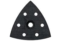 Metabo Gelochte Dreieckschleifer-Schleifplatte mit Kletthaftung für DSE 300/ DSE 300 Intec