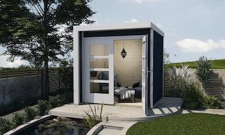 Weka Design Gartenhaus 262 A mit Doppeltür - 21 mm