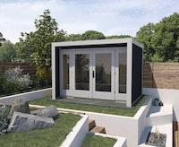 Weka Gartenhaus 263 mit großer Glasfront - 28 mm