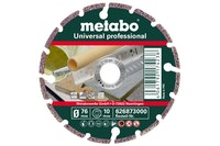 "Metabo Diamanttrennscheibe76x10,0mm""UP""Universal ""professional"""