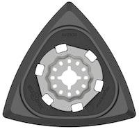 """Metabo Dreieckschleifplatte """"Starlock"""" 93 mm mit Kletthaftung"""