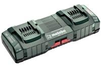 "Metabo Universal-Doppel-Schnellladegerät ASC 145 DUO 12-36 V""AIR COOLED""EU"