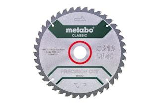 "Metabo Sägeblatt ""precision cut wood - classic""254x2,4/1,8x30 Z48 WZ 5°neg /B"